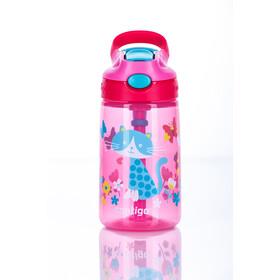 Contigo Gizmo Flip Flasche 420ml Kinder cherry cat